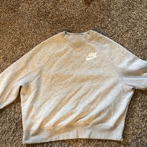 Nike gray pullover